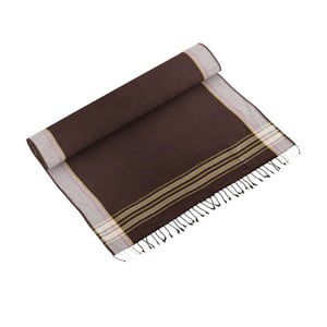 Ręcznik Akay Brown, 100x178 cm