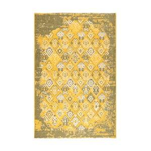 Żółto-zielony dywan dwustronny Halimod Maleah, 180x120cm