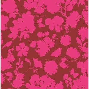 Tapeta flizelinowa Melli Mello Mara, różowa