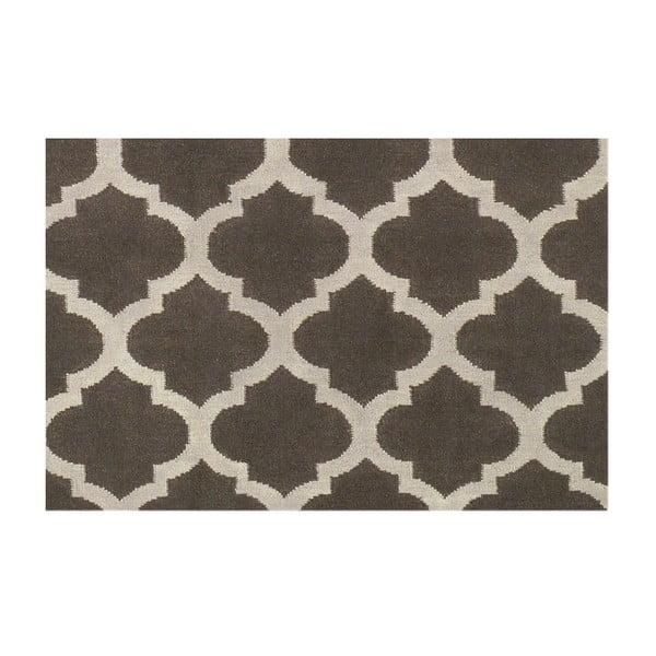 Ręcznie tkany dywan  Andrea Grey/White, 120x180 cm