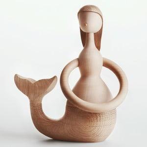 Dekoracja z drewna bukowego Architectmade Mermaid