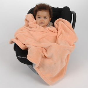 Kocyk Doudou Apricot, 100x75 cm