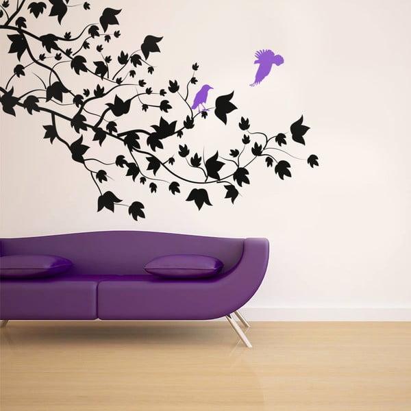 Naklejka na ścianę Ptaki i gałęzie, 90x120 cm