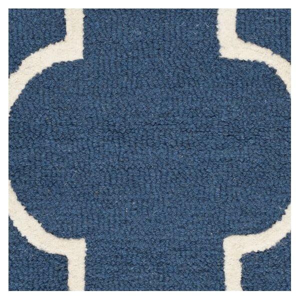 Dywan Everly 91x152 cm, niebieski