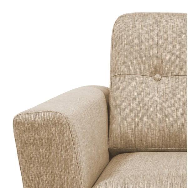 Beżowa sofa 3-osobowa Vivonita Harlem XL