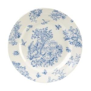 Talerz Toile Blue de Jardin, 20 cm