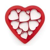 Forma do wykrajania ciasteczek Puzzle Hearts
