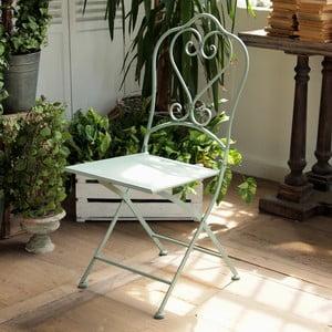 Zestaw 2 metalowych krzeseł Green Farm