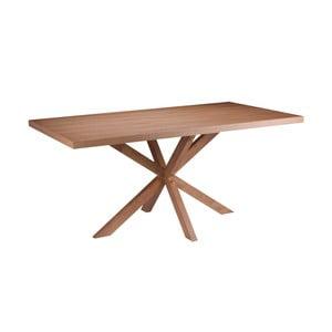 Stół w dekorze drewna dębowego sømcasa Dina, 160 x 90 cm