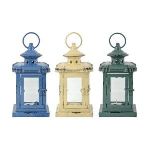 Zestaw 3 lampionów metalowych Esschert Design