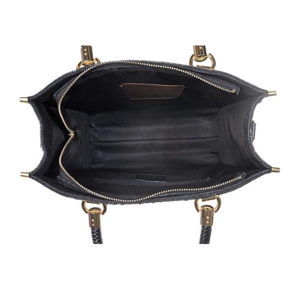 Skórzana torebka Rep Black