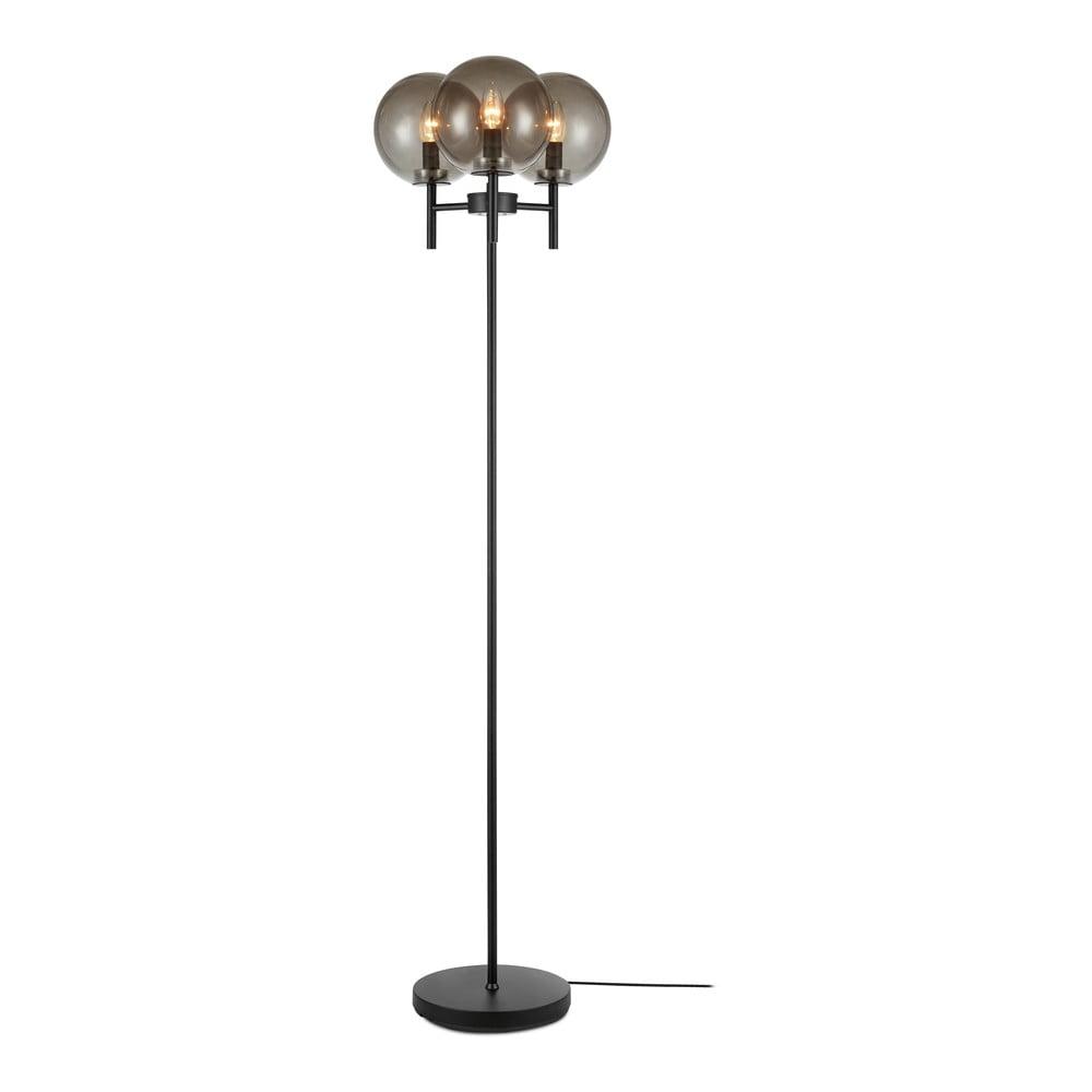 Lampa stojąca w czarnym kolorze Markslöjd Crown Floor 3L