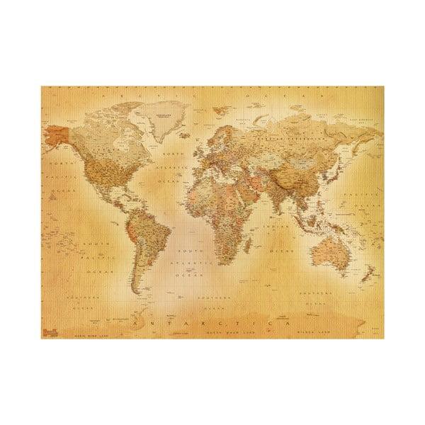 Tapeta wielkoformatowa Old Map, 315x232 cm