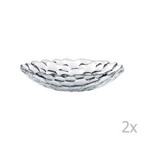 Komplet 2 talerzy głębokich ze szkła kryształowego Nachtmann Sphere, ⌀ 25 cm