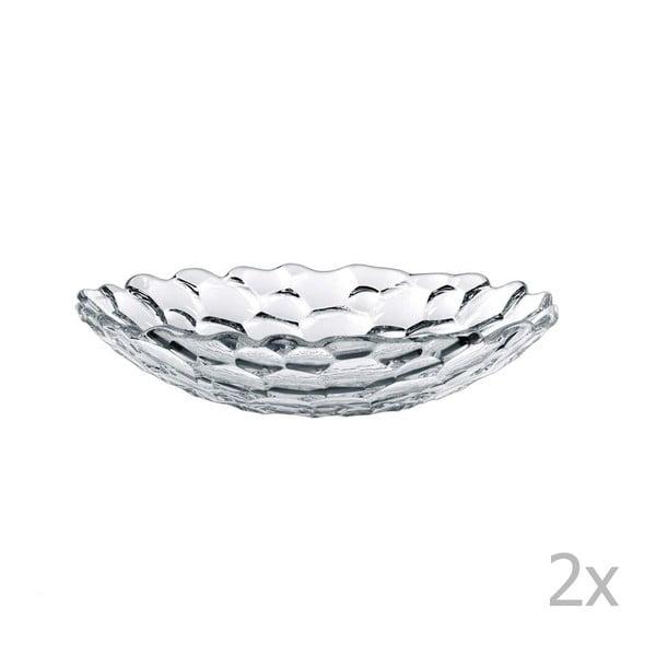 Zestaw 2 salaterek ze szkła kryształowego Nachtmann Sphere, ⌀ 25 cm
