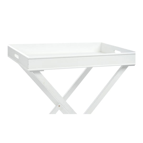Stolik Butlertray White, 71x51x77 cm