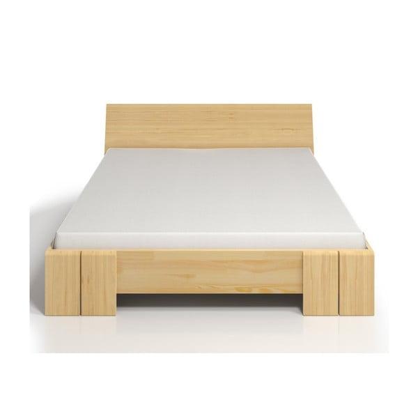 Łóżko dwuosobowe z drewna sosnowego ze schowkiem SKANDICA Vestre Maxi, 200x200 cm