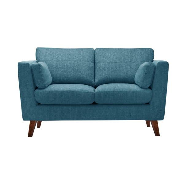 Zestaw fotela i 2 sof dwuosobowej i trzyosobowej Elisa, turkusowe