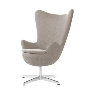 Szarobrązowy fotel obrotowy My Pop Design Indiana