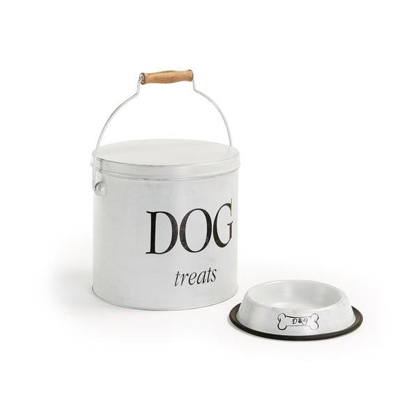 Komplet pojemnika i miski na psią karmę La Forma Dog