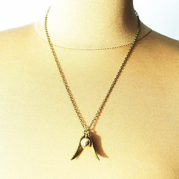 Naszyjnik Wings Love Pearl