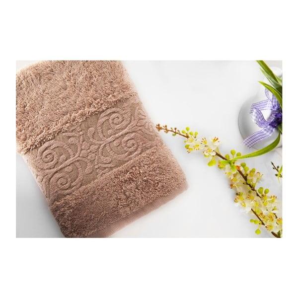 Zestaw 2 ręczników Bamboo Glory Powder, 50x90 cm i 70x140 cm