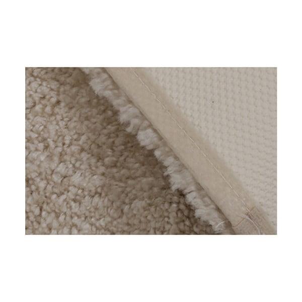 Jasnobeżowy dywanik łazienkowy Confetti Bathmats Miami, 57x100 cm