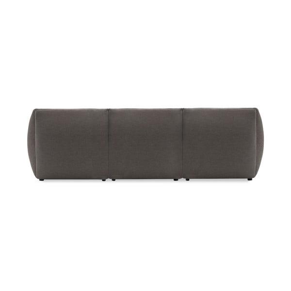 Sofa trzyosobowa VIVONITA Cube Grey z podnogiem