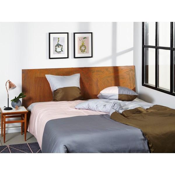 Pościel Domino Grey/Nude, 135x200 cm