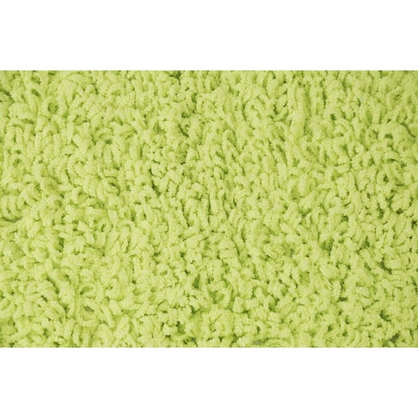 Mata łazienkowa Caniche Lime, 80x50 cm