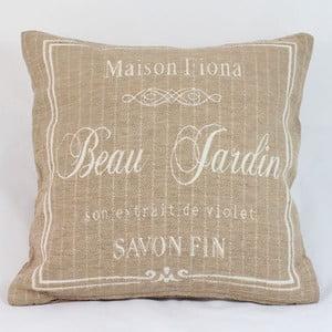 Poszewka na poduszkę Beau Gardin in Beige, 40x40 cm