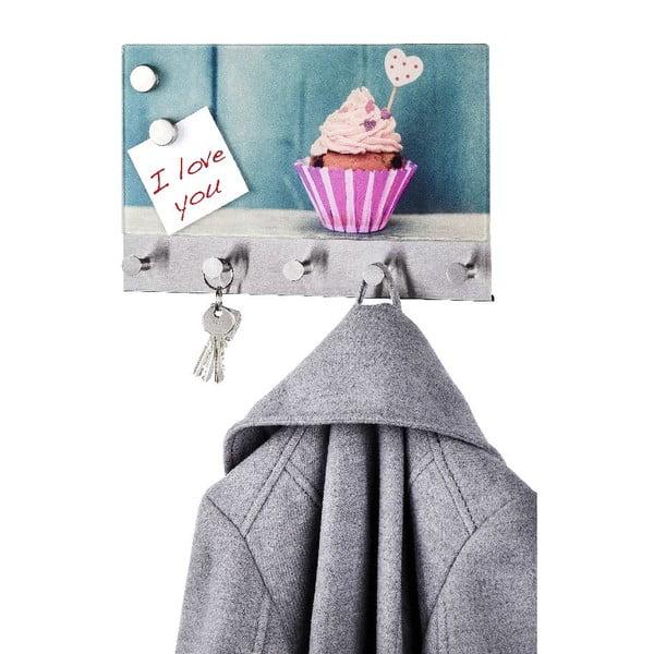 Magnetyczny wieszak na płaszcze Cupcake