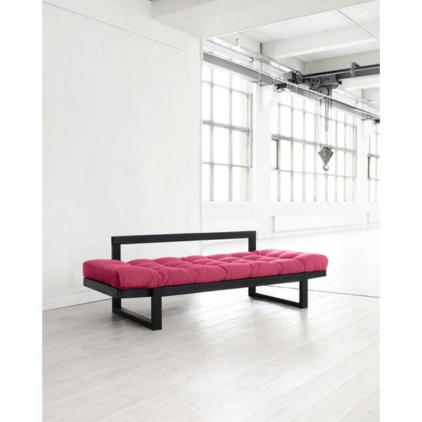 Sofa Karup Edge Black/Magenta