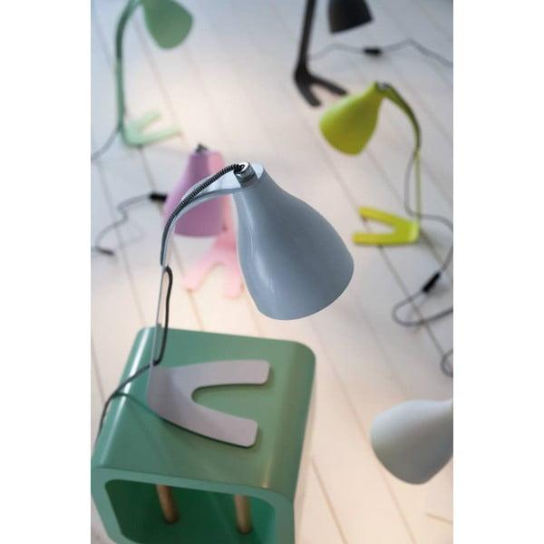 Zielona lampa stołowa Leitmotiv Barefoot