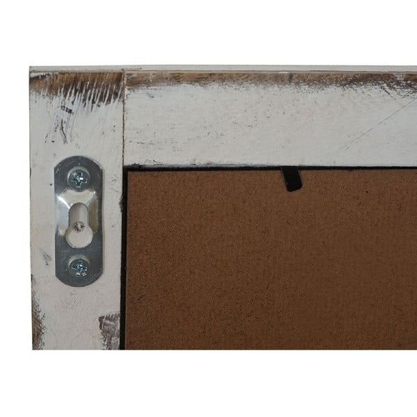 Biała tablica ścienna Mendler Shabby Billboard