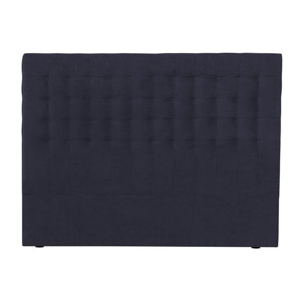 Ciemnoniebieski zagłówek łóżka Windsor & Co Sofas Nova, 180x120 cm
