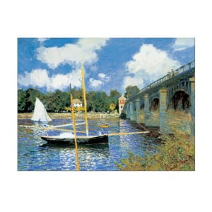 "Monet ""Most w Argenteuil"""