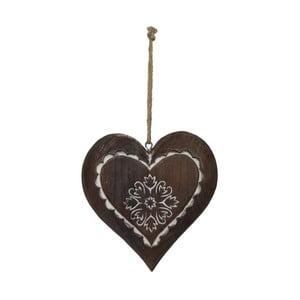 Dekoracja wisząca Antic Line Winter Time Heart Small