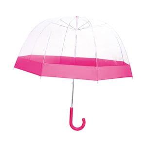 Parasol dziecięcy Pink Transparent
