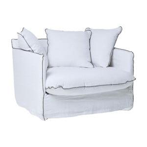 Biały fotel Kare Design Santorini