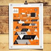 Plakat Autumn, 41x30 cm