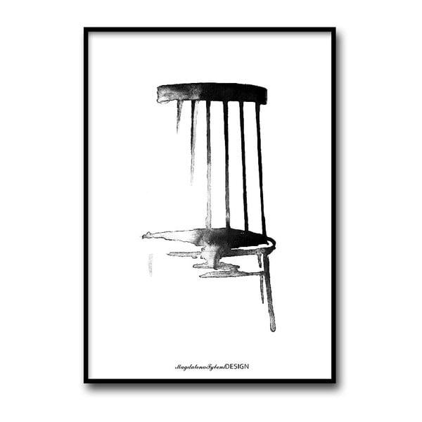 Plakat autorski Pinnstol, 50x70 cm