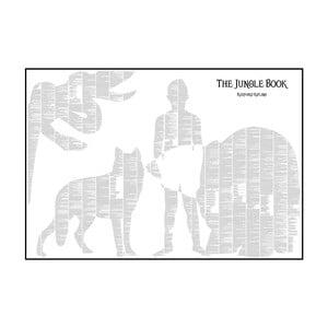 "Plakat ""Księga dżungli"", 100x70 cm"