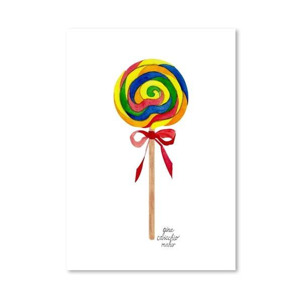 Autorski plakat Lollipop, 30x42 m