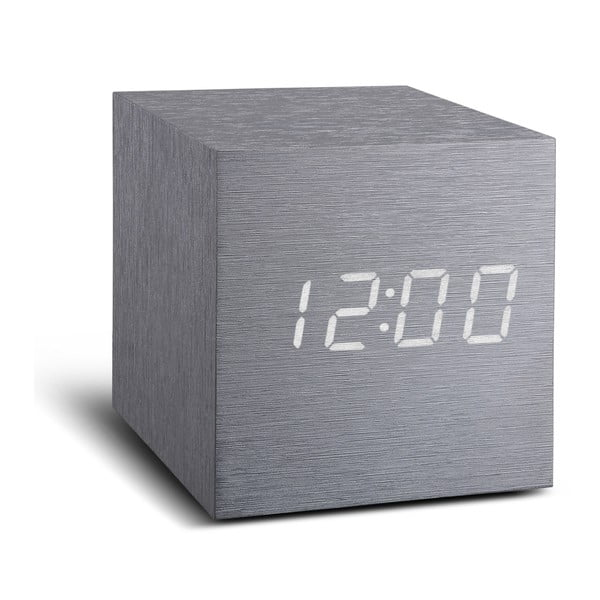 Budzik LED Click Clock Maxi White