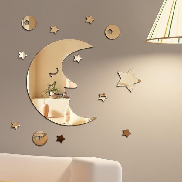 Lustro dekoracyjne Księżyc i gwiazdy