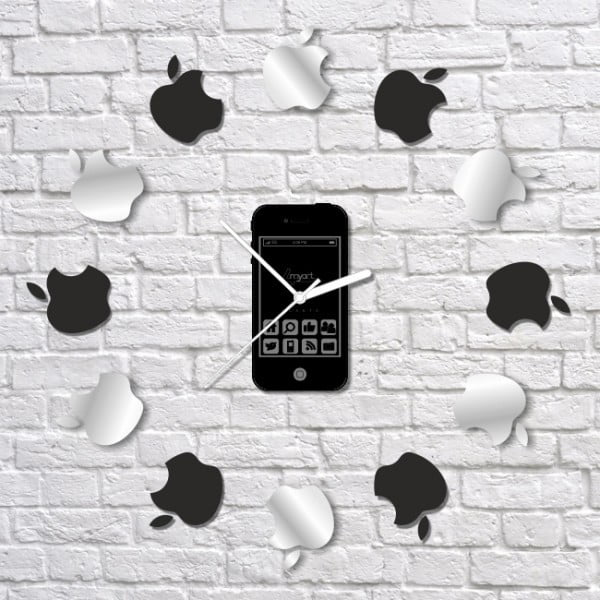 Zegar ścienny I Love Apple Clock