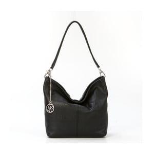 Skórzana torebka Marco, czarna