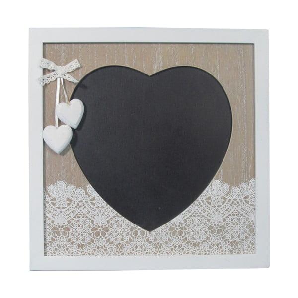 Tablica ścienna Bolzonella w kształcie serca