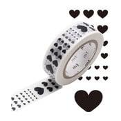 Taśma dekoracyjna washi Heart Scale